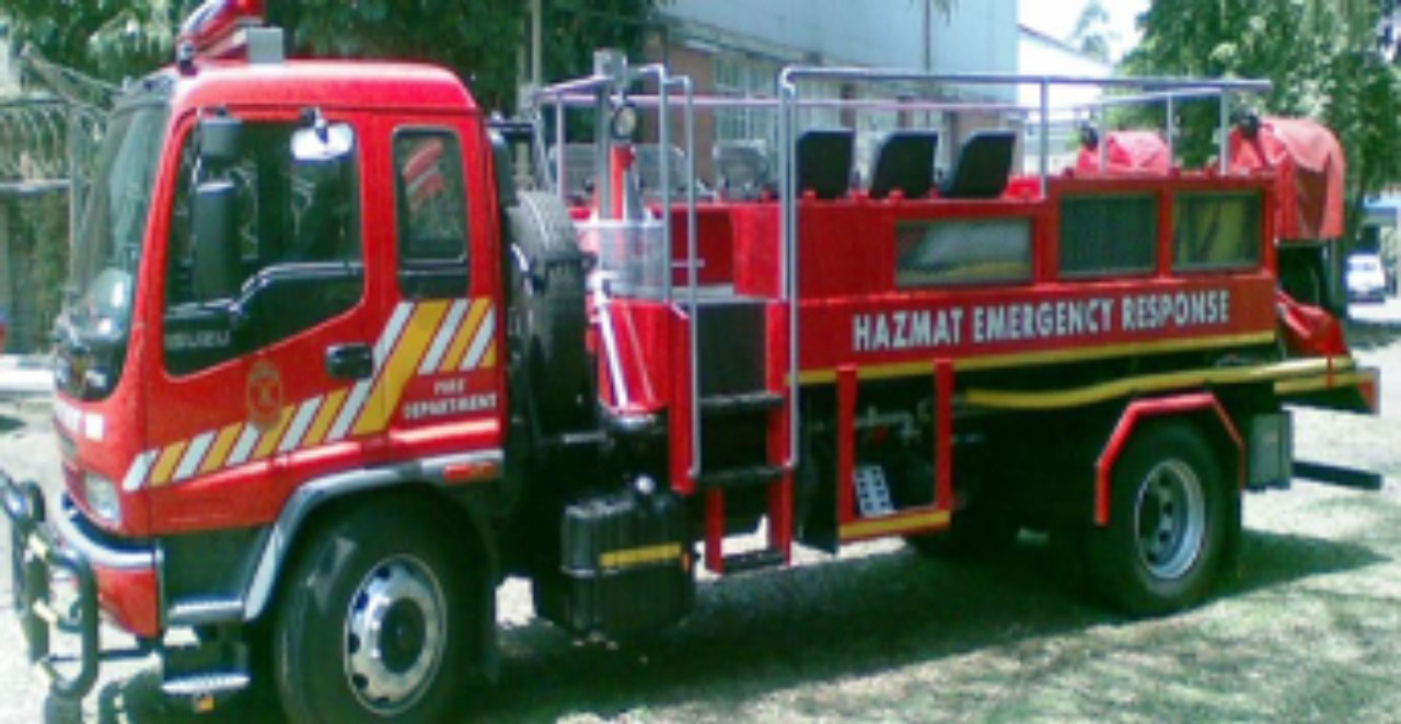 Customized Hazmat Truck